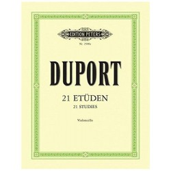 Duport. 21 Estudios Para...