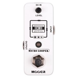 MICRO LOOPER Loop Recording Pedal