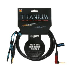 KLOTZ CABLES HIGH END TITANIUM 3 metros