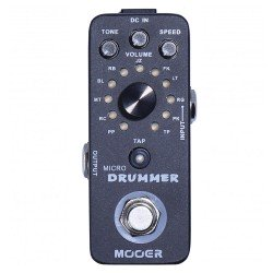 MOOER EFFECTS MICRO DRUMMER...