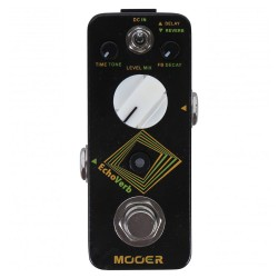 MOOER EFFECTS ECHOVERB Digital delay & reverb