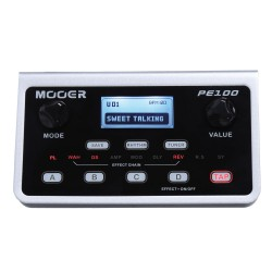 MOOER EFFECTS PE100 Portable guitar effects