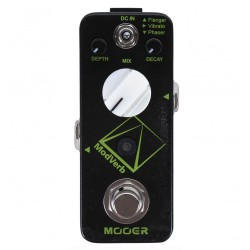 MOOER EFFECTS MODVERB Modulation reverb