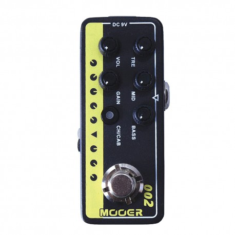 MOOER EFFECTS MICRO PREAMP 002 UK Gold 900