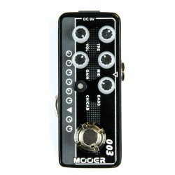 MOOER EFFECTS MICROP PREAMP...