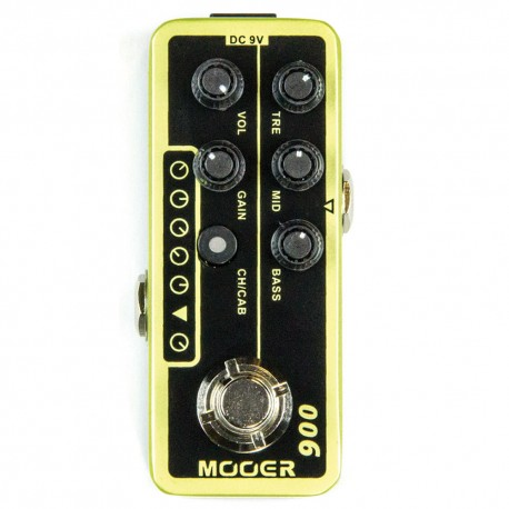 MOOER EFFECTS MICRO PREAMP 006 Classic deluxe