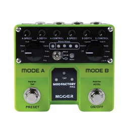 MOOER EFFECTS MOD FACTORY PRO Dual engine modulation