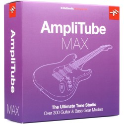 Software de guitarra para emulación de amplificadores MAC/PC (IKMULTIMEDIA)