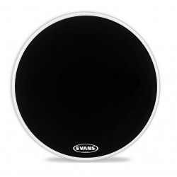 "PARCHE BOMBO RESONANTE EQ3 BLACK ERing 16"" No Port (EVANS)"