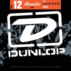 DUNLOP JUEGO ACÚSTICA BRONZE 80/20 LIGHT 12-54 Bronze 80/20