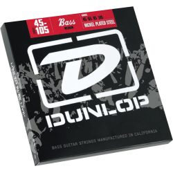 DUNLOP JUEGO BAJO ELEC. NICKEL MEDIUM 45-105 Nickel