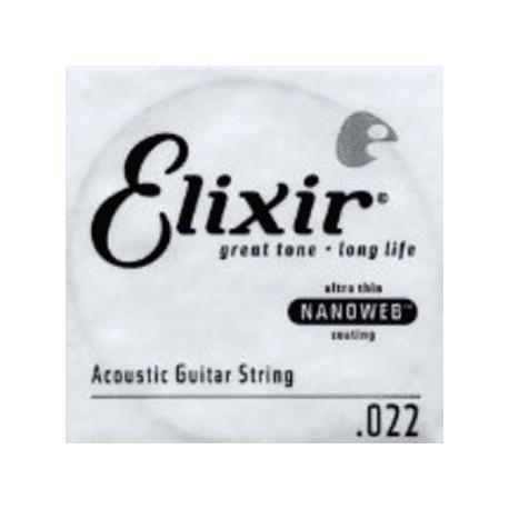 CORDE ACOUSTIQUE NANOWEB 022  (ELIXIR)