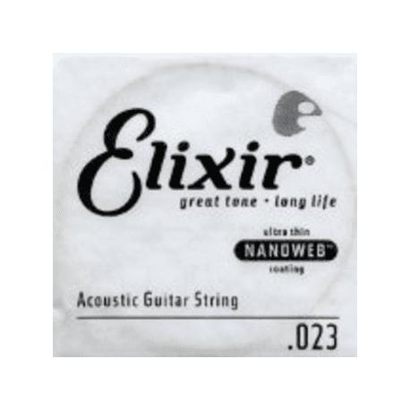 CORDE ACOUSTIQUE NANOWEB 023  (ELIXIR)