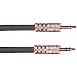 Cable de 3 metros de largo. Mini jack stereo macho a mini jack stereo macho (YELLOW CABLES)
