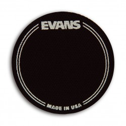 PAD IMPACTO PARA BOMBO SIMPLE EVANS EQ PATCH Negro (EVANS)