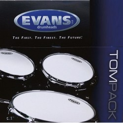 "TOMPACK EVANS G2 CLEAR FUSION (10"",12"",14"") 2 capa (EVANS)"
