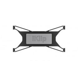 Soporte universal para iPads y tablets que se coloca en un pie de micrófono. (IKMULTIMEDIA)