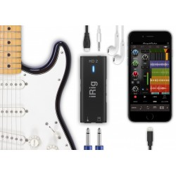 INTERFAZ DE ALTA DEFINICION 96KHZ PARA MAC/PC IPHONE Y IPAD (IKMULTIMEDIA)