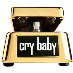 DUNLOP FX CRYBABY WAH WAH 50th ANNIVERSARY - GOLD COATED 24k Crybaby