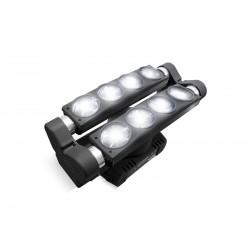 MARQ LIGHTING LUZ BLANCA DUAL DE RODILLO MULTI-HAZ EN BASE GIRATORIA (MARQ LIGHTING)