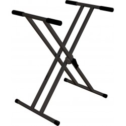 Soporte para teclados e instrumentos similares. Color negro. Serie rotar (RTX)