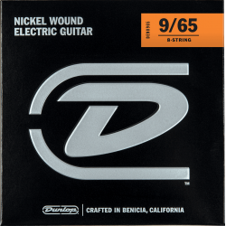 JUEGO GUITARRA ELEC. LIGHT 8St 09-65 (DUNLOP)
