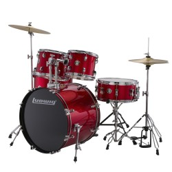 LUDWIG LC175 Accent Drive Red Foil