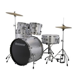 LUDWIG LC175 Accent Drive Silver Foil
