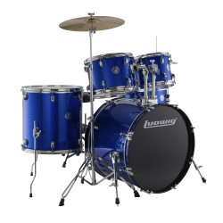 LUDWIG LC175 Accent Drive Blue Foil