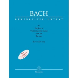 Bach,J.S. Seis suites para violoncello solo Senza Basso
