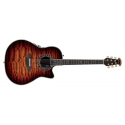 Ovation Legend Plus Deep Contour Cutaway Sapele Tobacco Burst