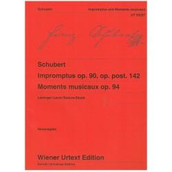 Schubert. Impromptus Op.90, Op.Post.142, Momentos Musicales Op.94