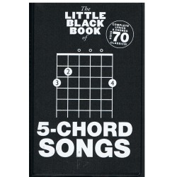 The Little Black Songbook. 5 Chord Songs. Letras y Acordes
