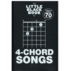 The Little Black Songbook. 4 Chord Songs. Letras y Acordes