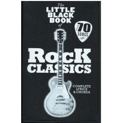 The Little Black Songbook. Rock Classics. Letras y Acordes