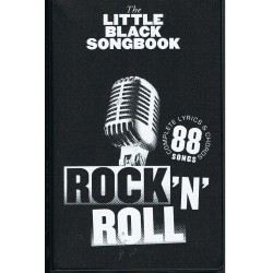 The Little Black Songbook. Rock´N´Roll. Letras y Acordes