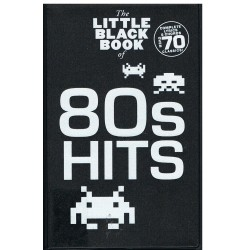 The Little Black Songbook. 80´s Hits. Letras y Acordes