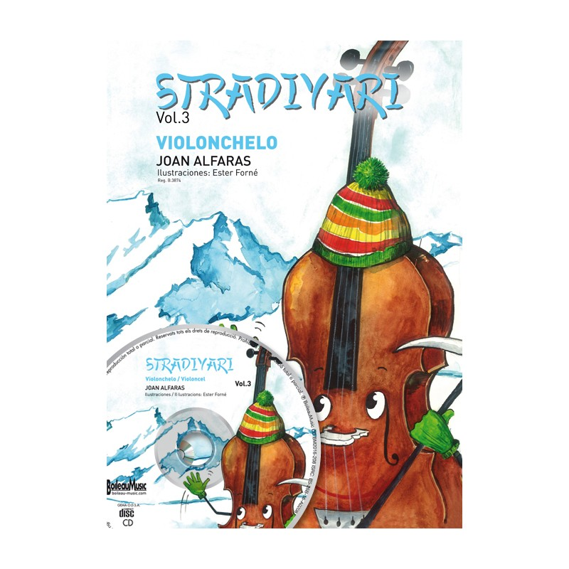 Stradivari violonchelo, Vol. 3