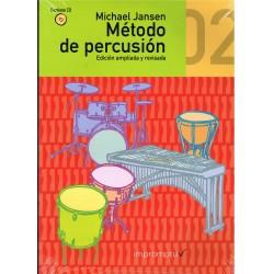 Jansen, Michael. Método de Percusión 02 +CD