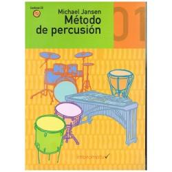 Jansen, Michael. Método de Percusión 01 +CD