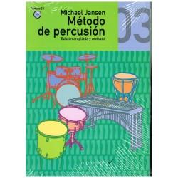 Jansen, Michael. Método de Percusión 03 +CD. Edición Ampliada y Revisada