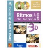Silvano, Jordi. Ritmos & Breaks de Batería en 3D +CD +DVD
