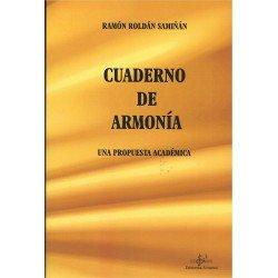 Roldán Samiñán. Cuaderno de Armonía. Una Propuesta Académica