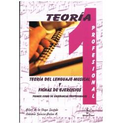 Vega/García. Teoría del Lenguaje Musical y Fichas de Ejercicios 1º Grado Profesional
