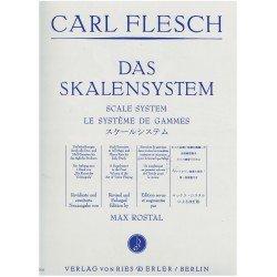 Flesch, Carl. El Sistema de Escalas (Violín)