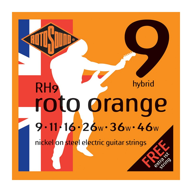 Cuerda Electrica ROTOSOUND RH9 Juego