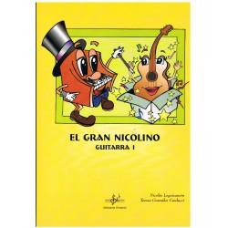 Leguizamón / González. El Gran Nicolino. Guitarra I