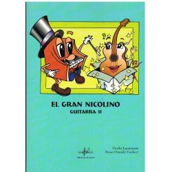 Leguizamón / González. El Gran Nicolino. Guitarra II