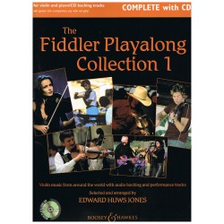 Huws Jones, Edward. The Fiddler Playalong Collection 1