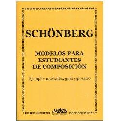 Schonberg. Modelos para Estudiantes de Composición